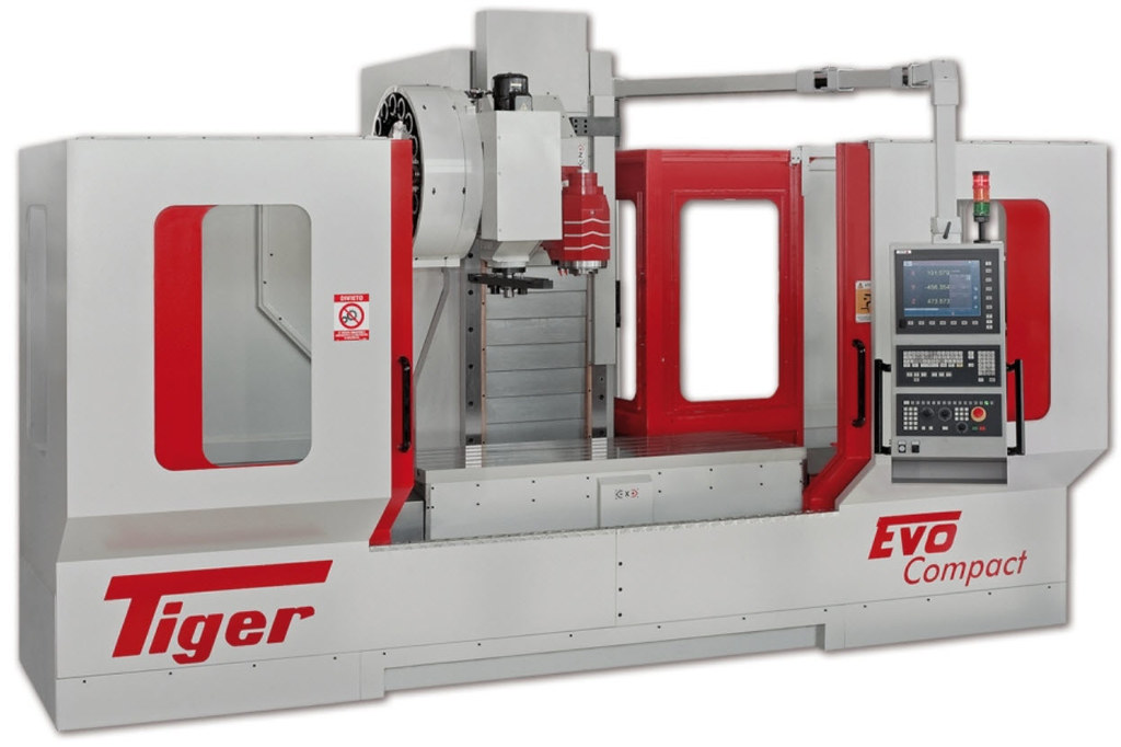 TIGER (Italy) Milling Machine CNC8065 M | TIGER (Italy ...