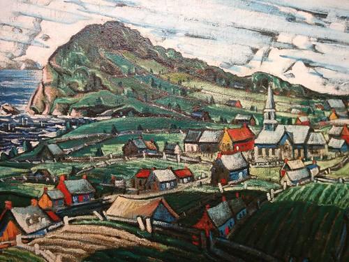 Marc-Aurèle Fortin, Paysage de Gaspésie: Anse-aux-Gascons