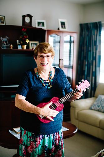 Rowena, resident of Brisbane aged care community BallyCara