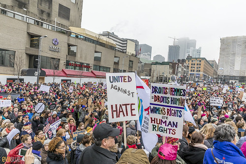 manif des femmes women's march montreal 08 | by Eva Blue