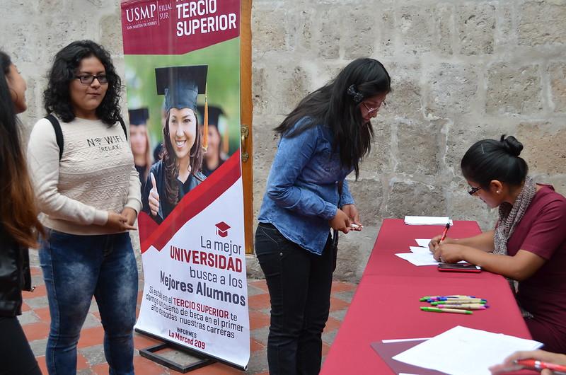 """CHARLA INFORMATIVA """"EDUCACIÓN Y DESARROLLO"""" EN UNIVERSIDAD DE SAN MARTÍN DE PORRES"""