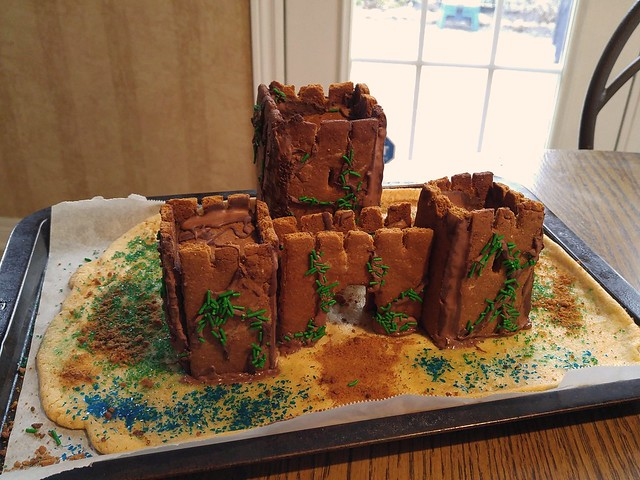 Gingerbread Castle Façade