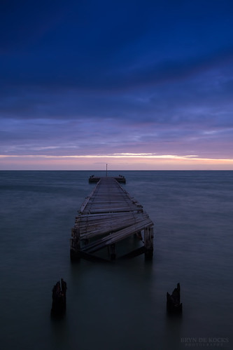 Jetty at Dusk | by Bryn De Kocks