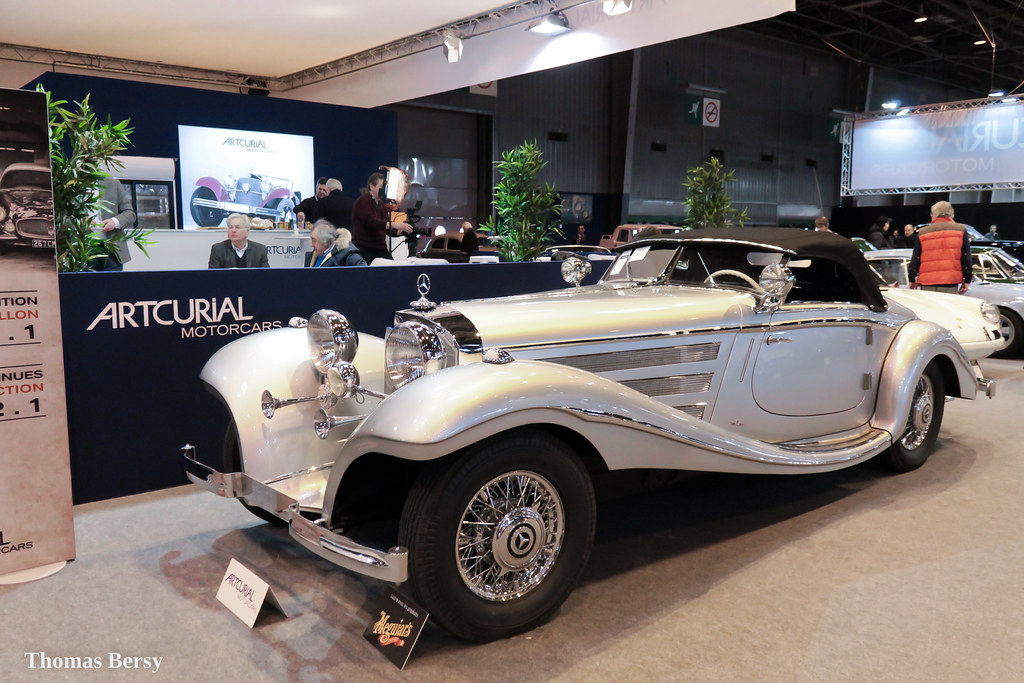 Mercedes Benz 540K Spezial Roadster 1938