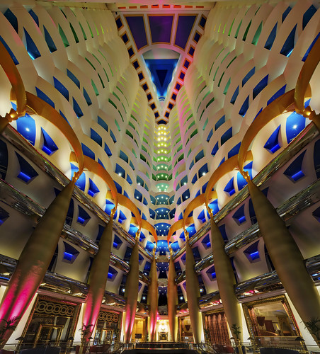 inside the burj al arab the reason i brought up