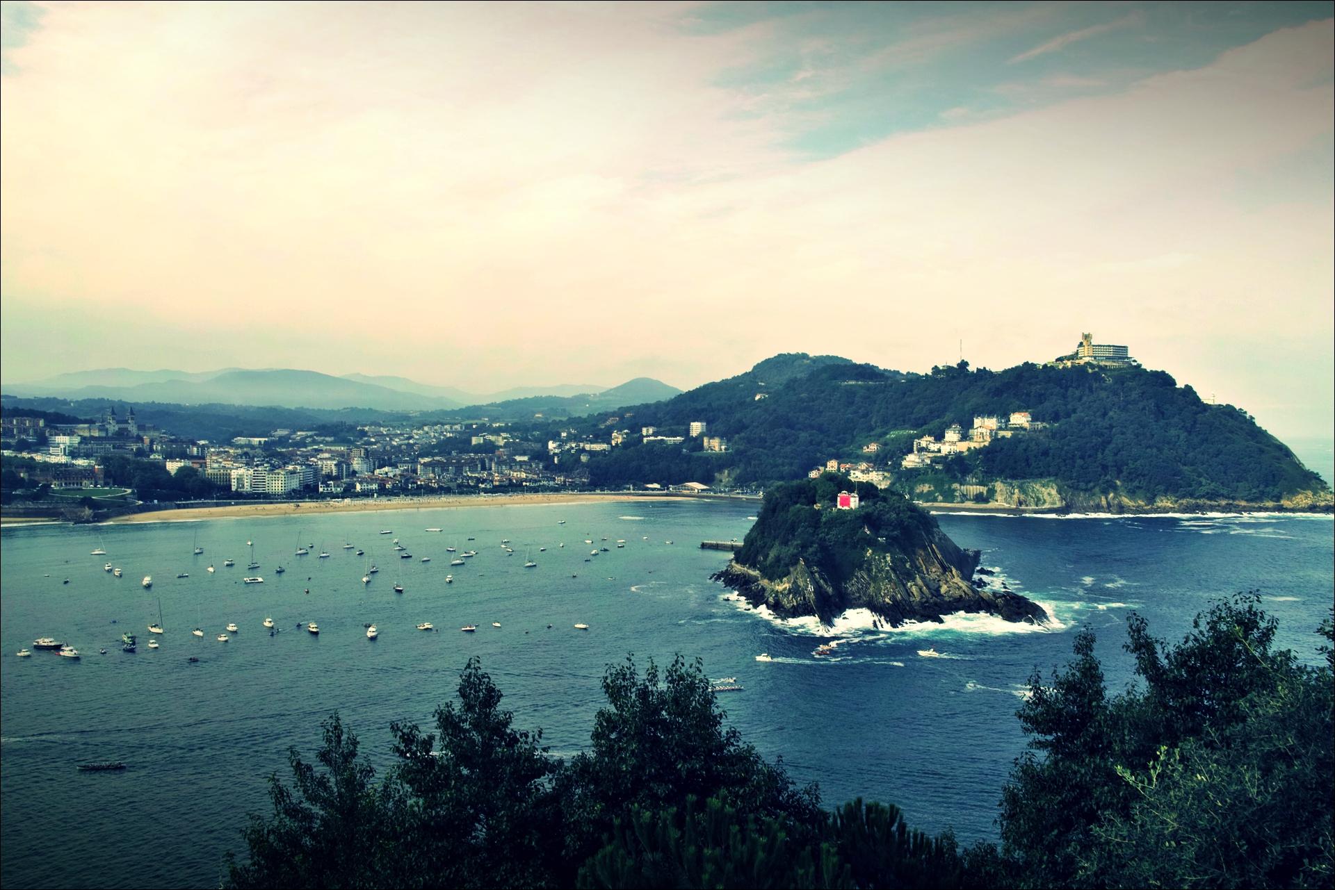 바다-'산 세바스티안 둘러보기(Sightseeing San Sebastian, Spain)'