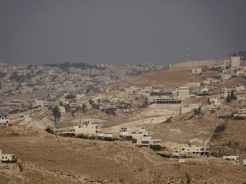 Jerusalem vanuit Betlehem gezien
