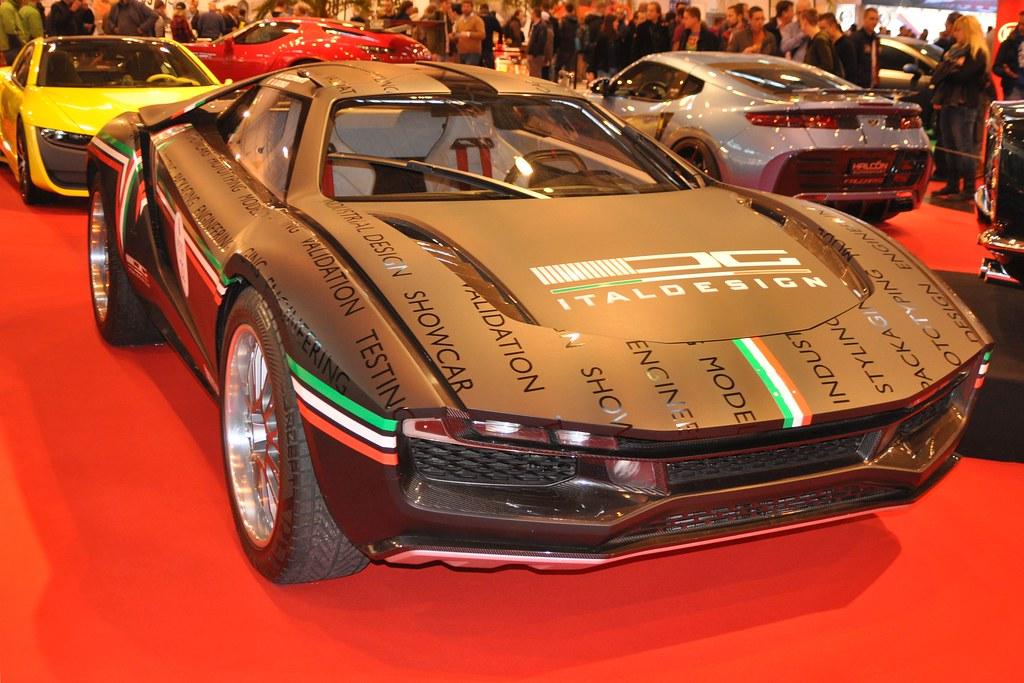 Italdesign Giugiaro Parcour 2013 Concept Car One Off T Flickr