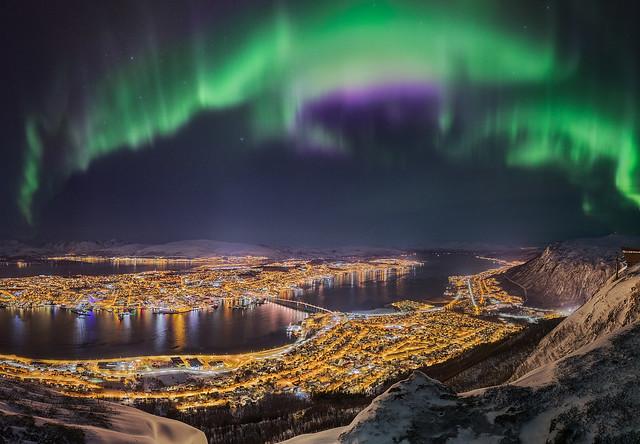 Tromso Island Panorama