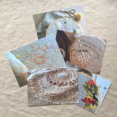 Stitch Journal 2016 Postcards