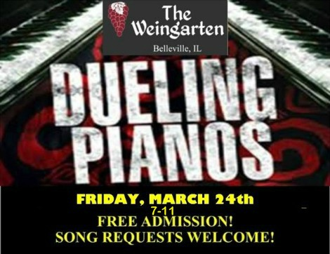 Dueling Pianos 3-24-17