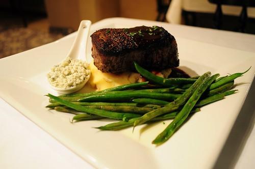 Carousel Flat Iron Skillet cooked Filet