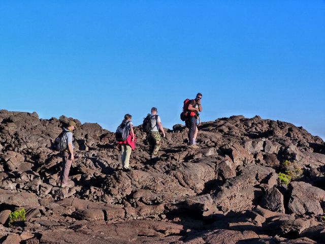 Trekking al volcán Le Piton de la Fournaise (Isla Reunión)