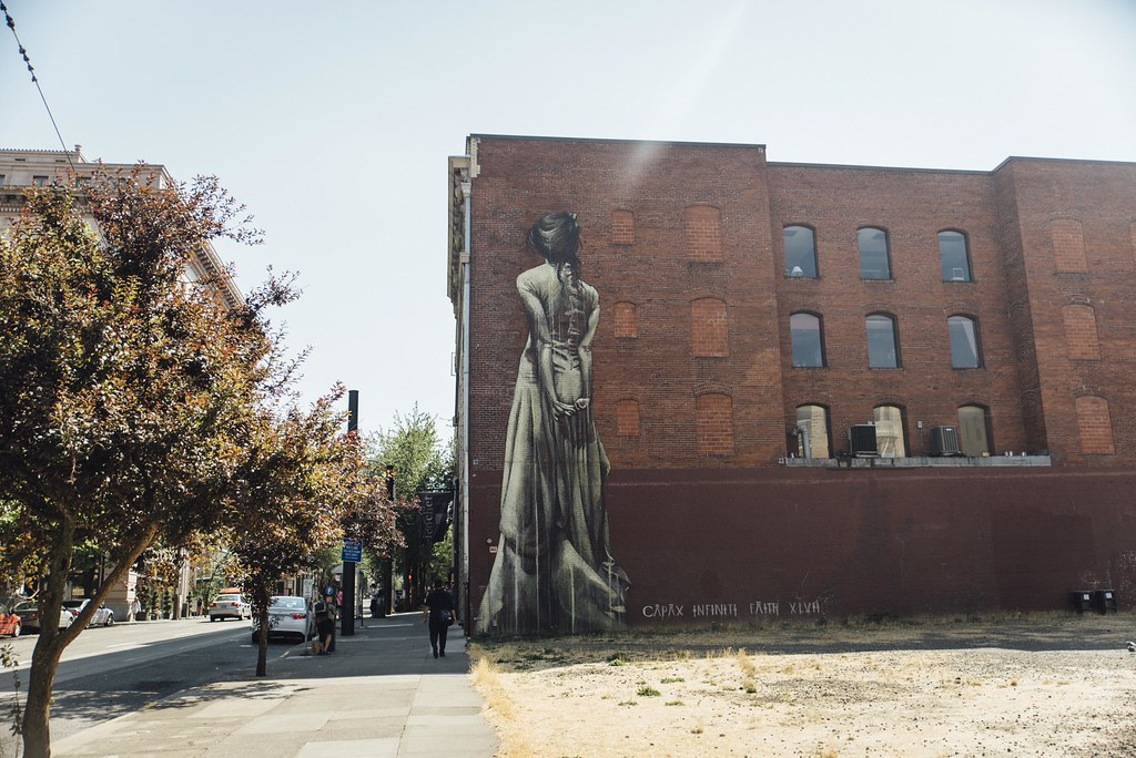 Streetart Portland