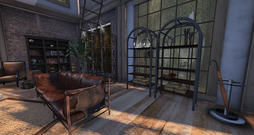 Main House-Living Room Hall:Entry | by Hidden Gems in Second Life (Interior Designer)