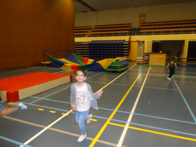 sportklassen in het eerste leerjaar!