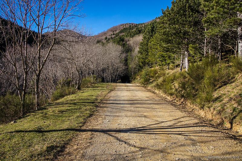 Camino de Maçanet de Cabrenys a Les Salines