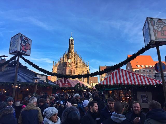 Mercado de Navidad de Núremberg (Baviera, Alemania)