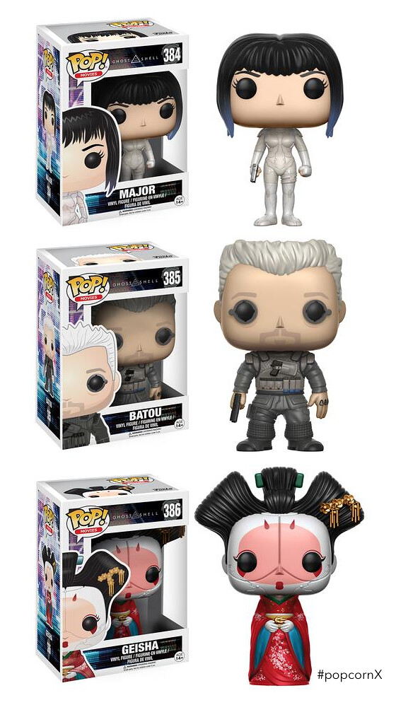 POP FUNKO GHOST IN THE SHELL