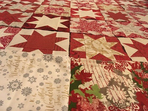 UFO Christmas Quilt border options