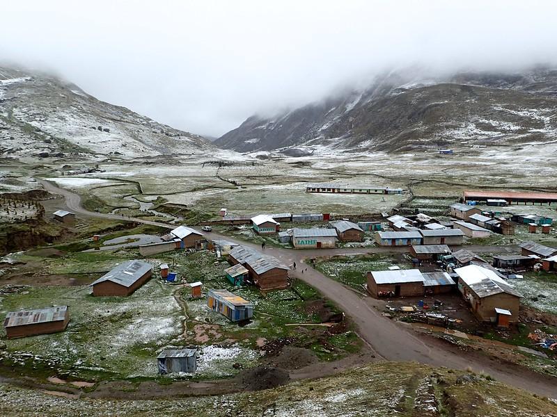 Antacallanca, unas 20 personas viviendo a 4.300 metros de altitud.