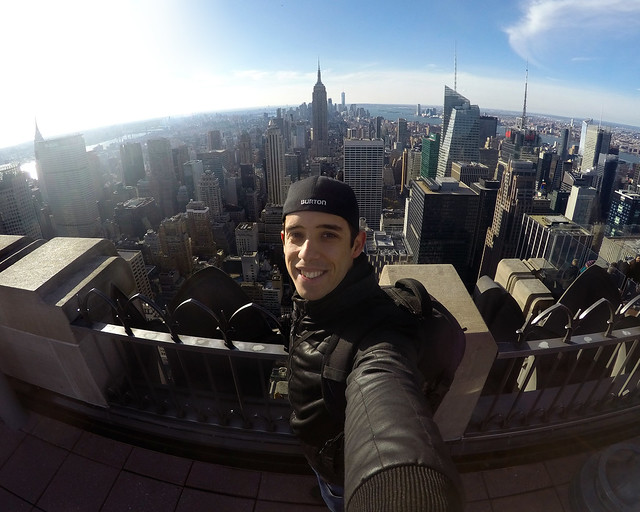 En el Top of the Rock de Nueva York