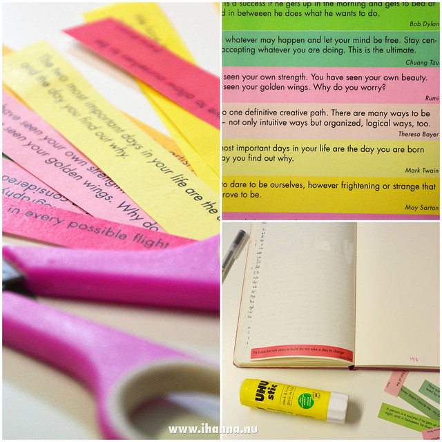 Free printable inspirational quotes for you and your awesome notebook #free #printable