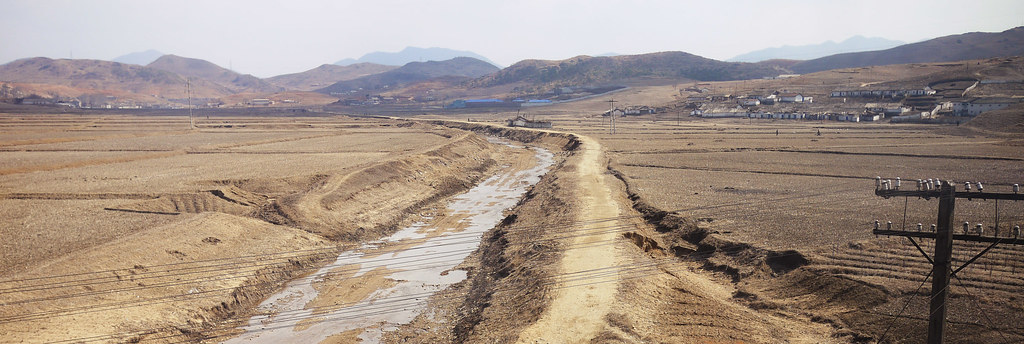 North Korean countryside