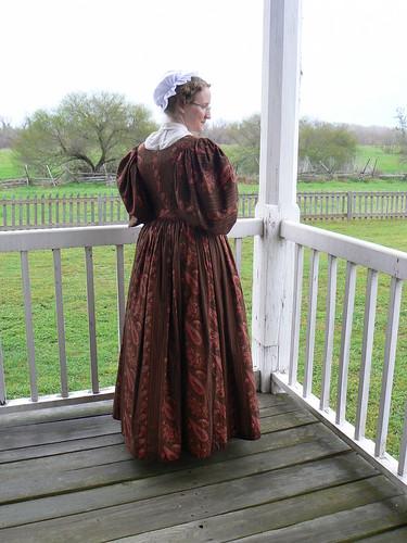 Mid-1830's Dress - Back