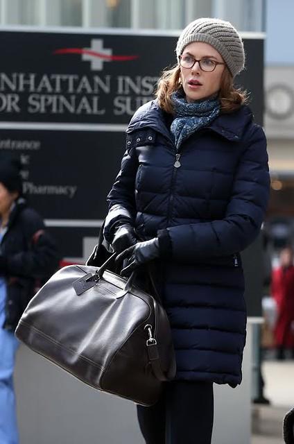 Nicole Kidman con bolso de Longchamp