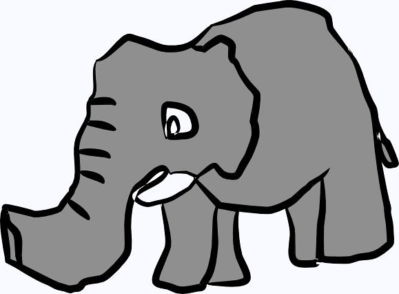 elesvg | baby elephant clipart | georgemacman | Flickr