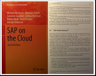 "Proud to contributed the ""SAP Monsoon"" chapter to the book ""SAP on the Cloud"" - http://j.mp/1UgQrvd 