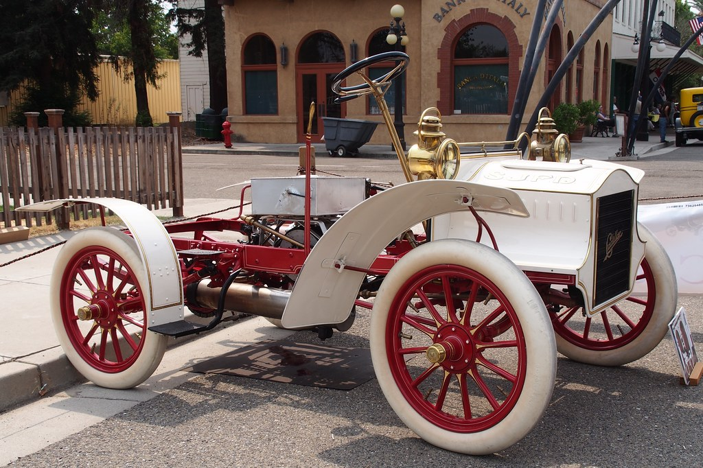 Race Car For Sale >> 1905 Cadillac SJFD Fire Chief Car 2 | Photographed at the 20… | Flickr
