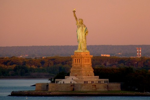 Liberty Cruise Ship >> Statue of Liberty at Sunrise, New York/New Jersey   As seen …   Flickr
