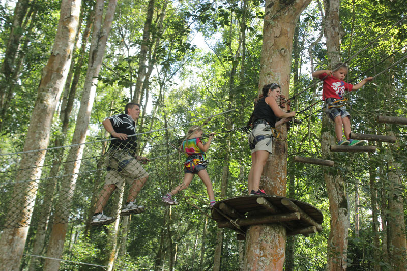 Treetop Adventures Bali