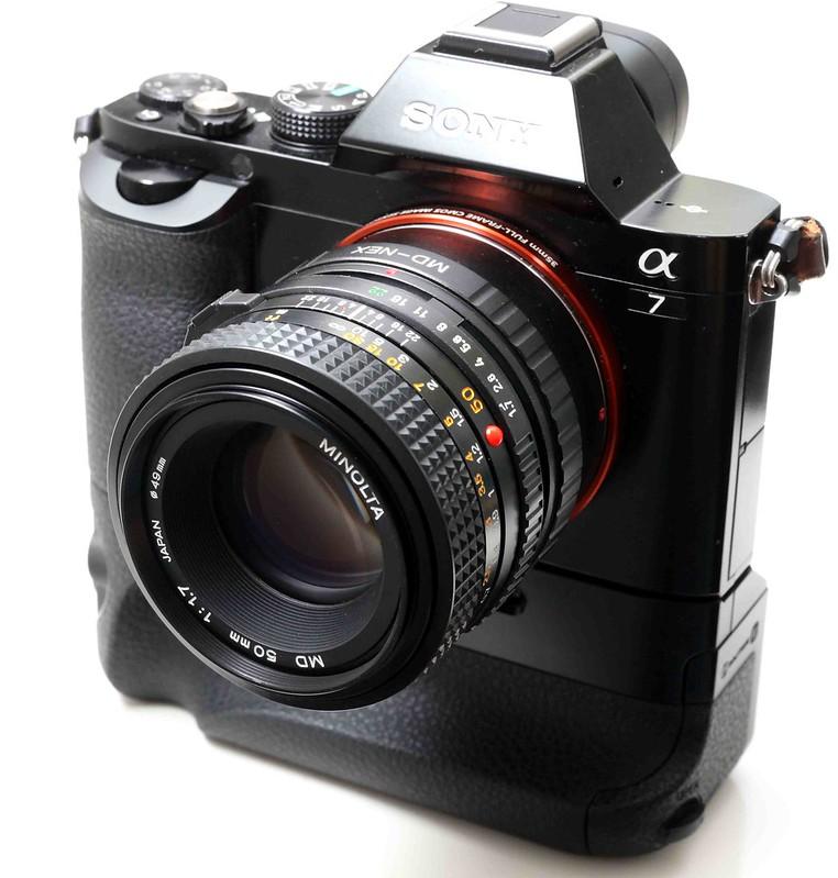 二手鏡頭 香港 . . . Minolta MD 50mm f/1.7 (極新淨) 色極靚   散景可與貴鏡一較高下   最抵玩名廠大光圈   最啱A7
