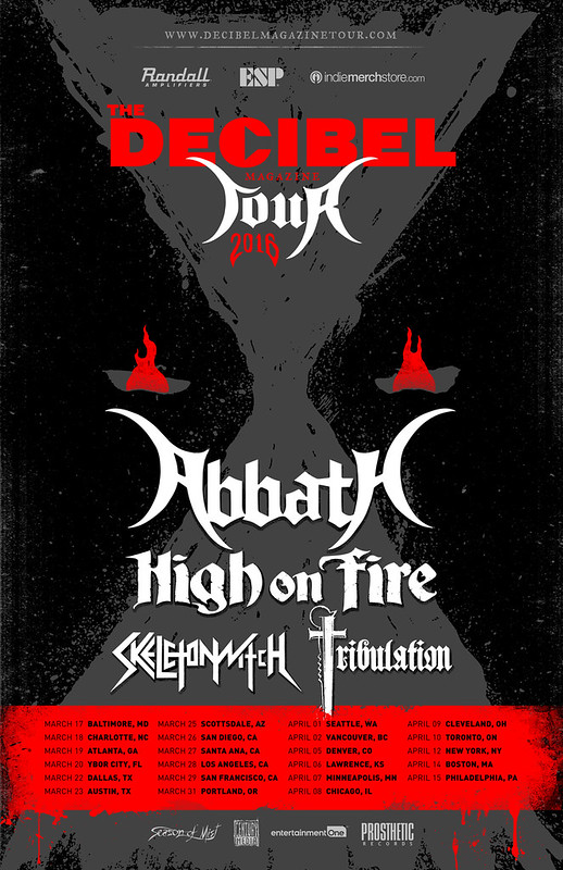 Abbath at Baltimore Soundstage