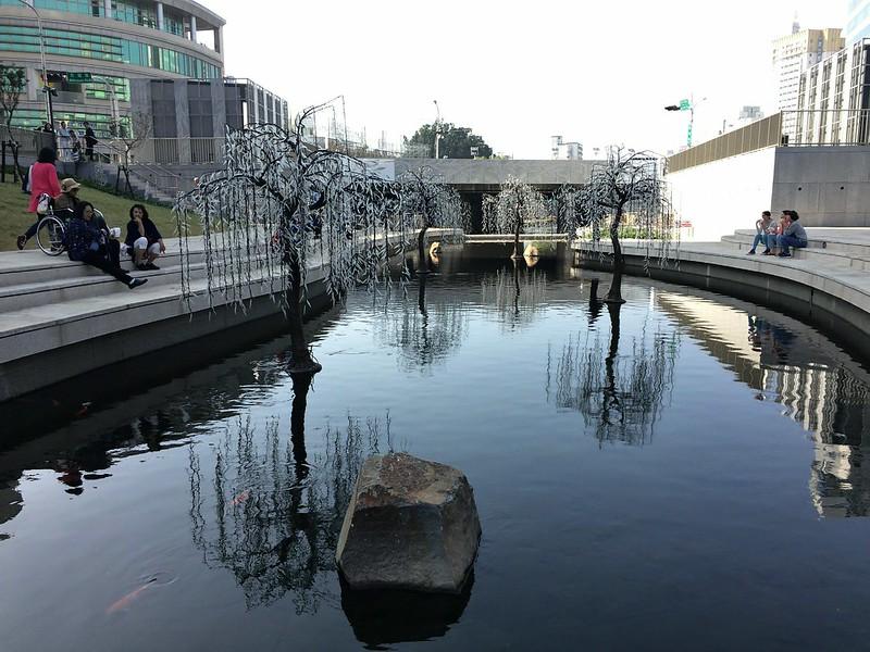 台中柳川河岸