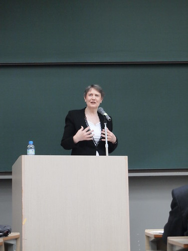 "Helen Clark: Lecture at Kwansei Gakuin University ""Challenges and Opportunities in Implementing the New Global Agendas"" 