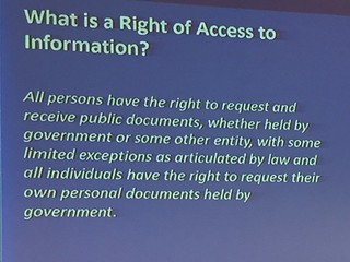 Right to access to information