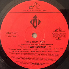 SWV:THE REMIXES(LABEL SIDE-A)