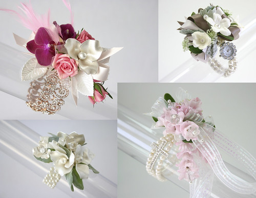 Wedding Corsages — Photo Courtesy Fitz Design | by Flower Factor