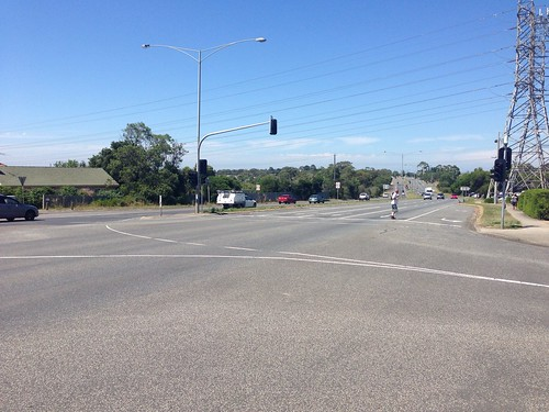 Crossing at Elders Street and Greensborough Road intersection
