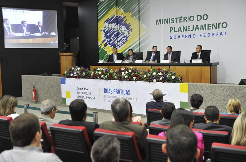 Seminário Boas Práticas de Governança e Realinhamento Estratégico do Estado
