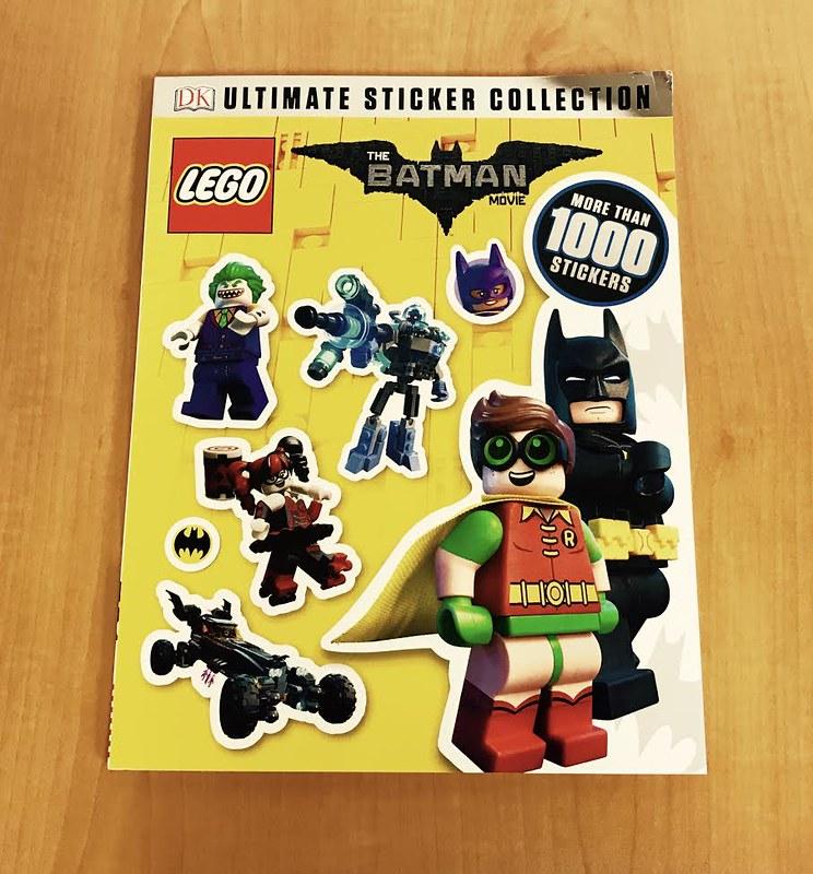LEGO Batman Movie Books Ultimate Sticker Collection