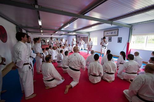 Referência mundial de karaté visita Leiria para ensinar a equilibrar corpo e mente