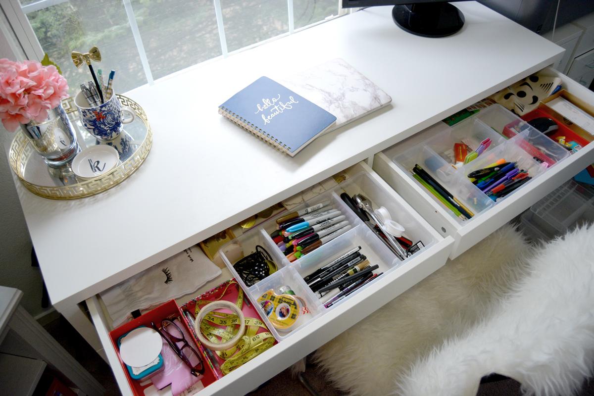 Secrets to an Organized Desk