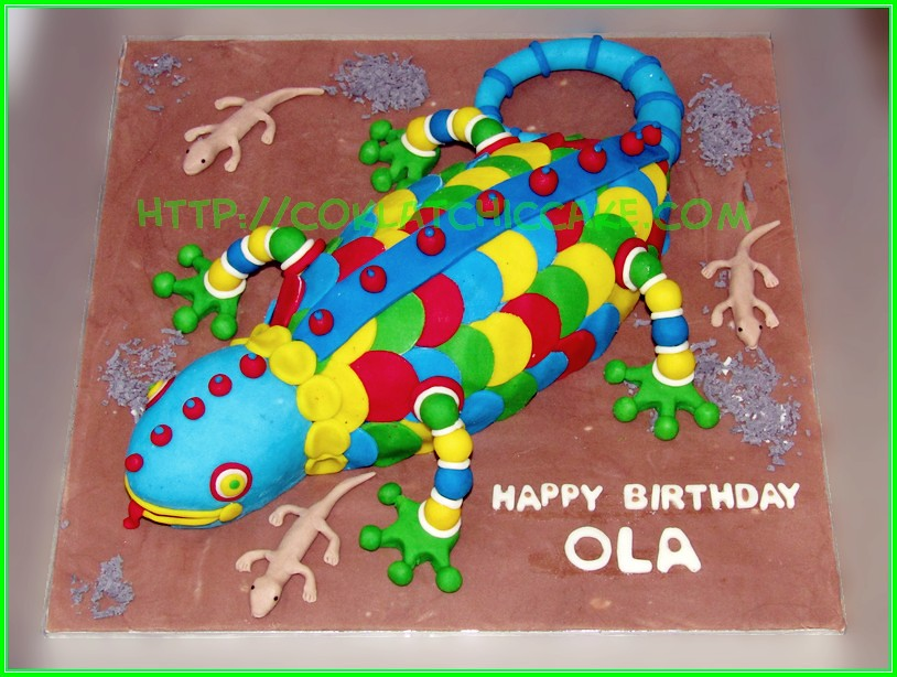 Cake Lizard