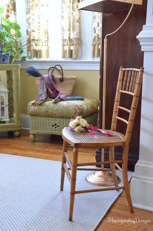 Sunroom-Bamboo and Cane Chair-Housepitality Designs