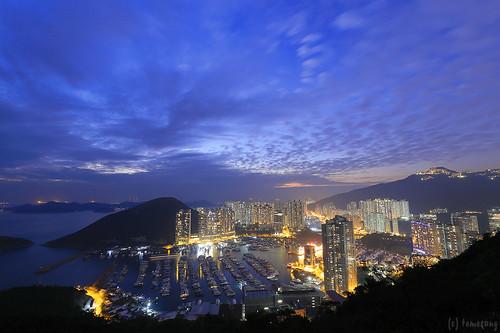 Nam Long Shan at twilight
